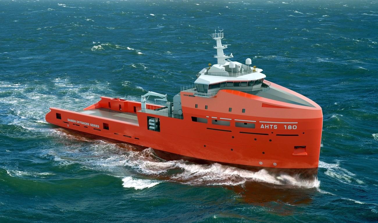 Embarcação do tipo AHTS