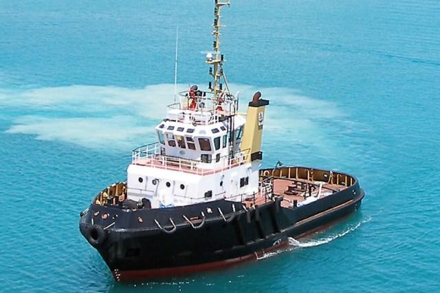 Embarcação do tipo Tug Supply
