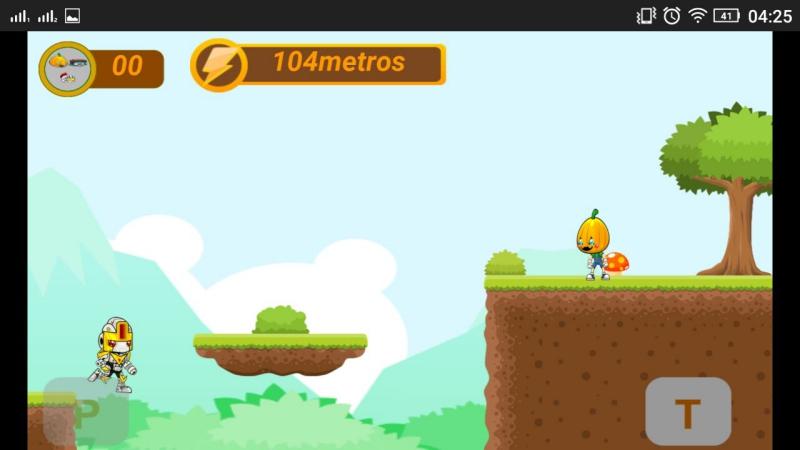 Jogador pulando