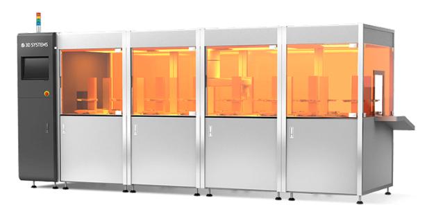 Plataforma de produção em massa da 3D Systems