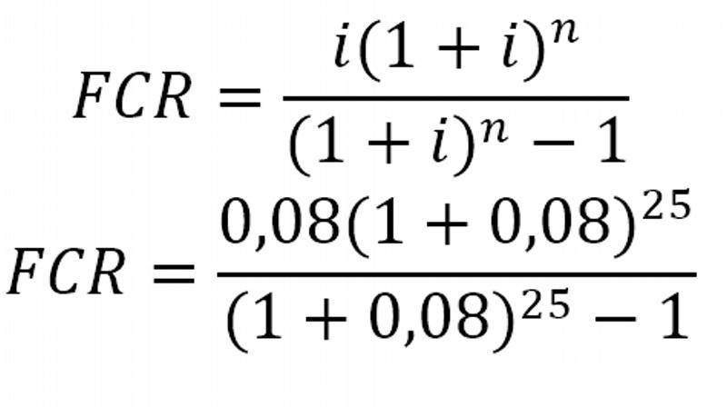 Cálculo do FRC