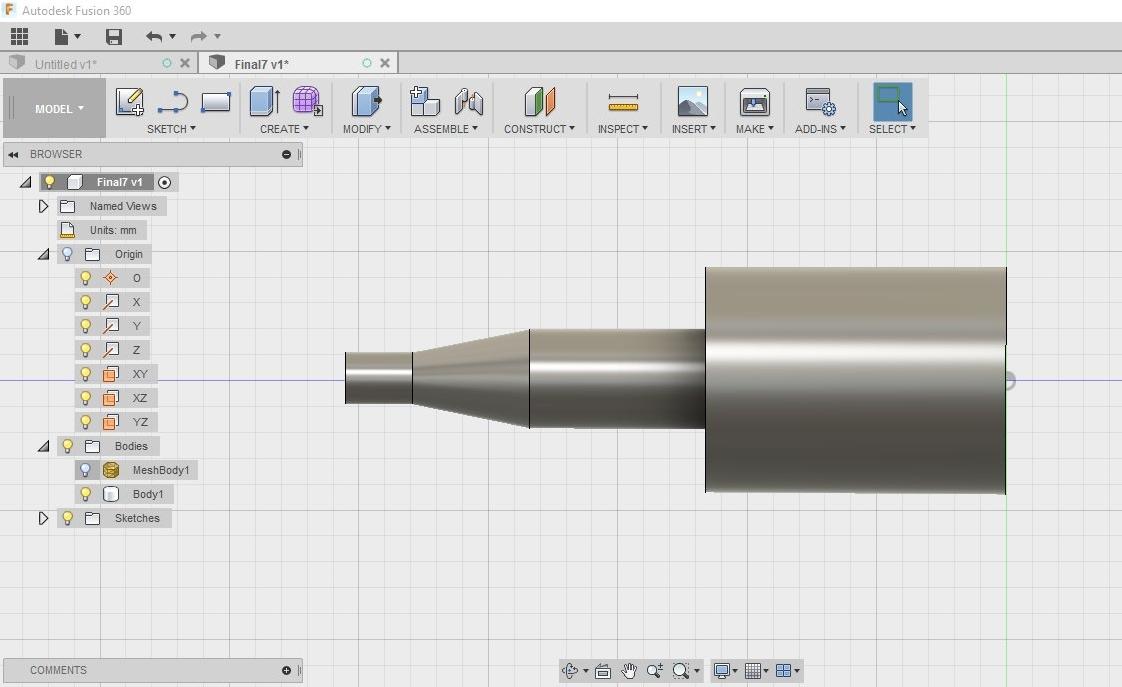 AutoCad Fusion 360 - Modelo 3D