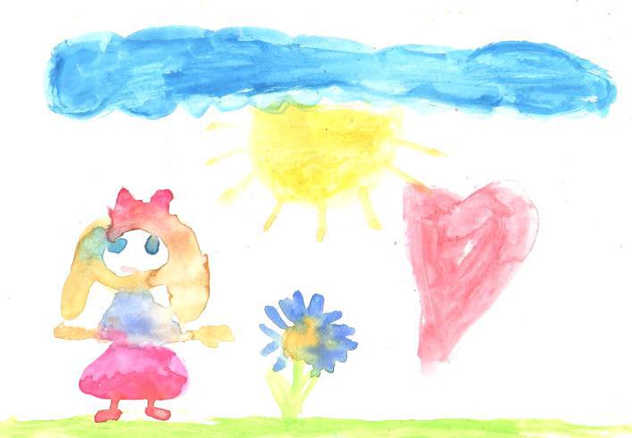 Desenho da criança durante a fase do Esquematismo