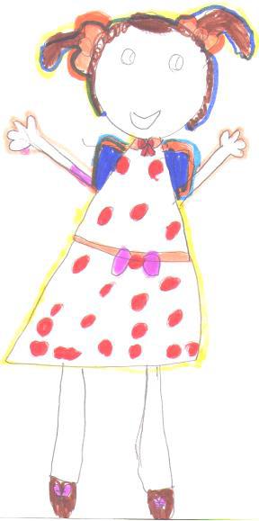 Desenho da criança durante a fase do Realismo