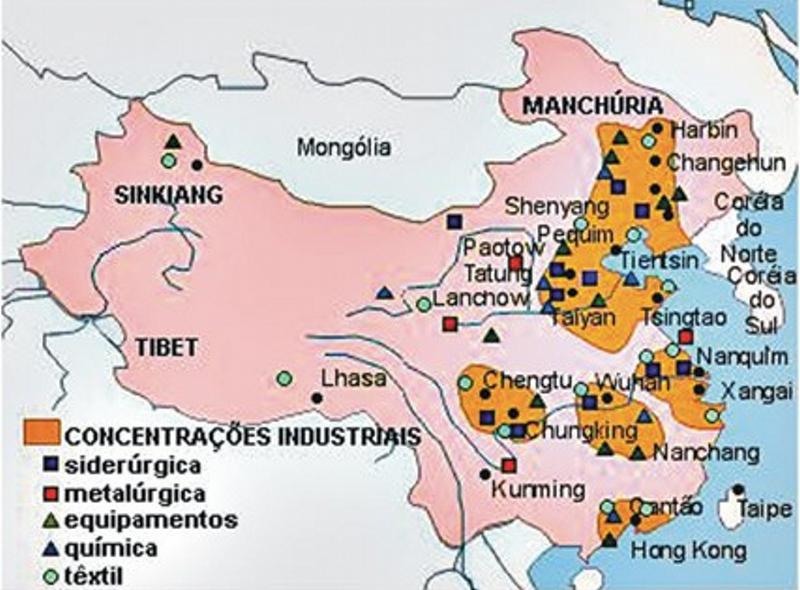 Zonas Industriais da China