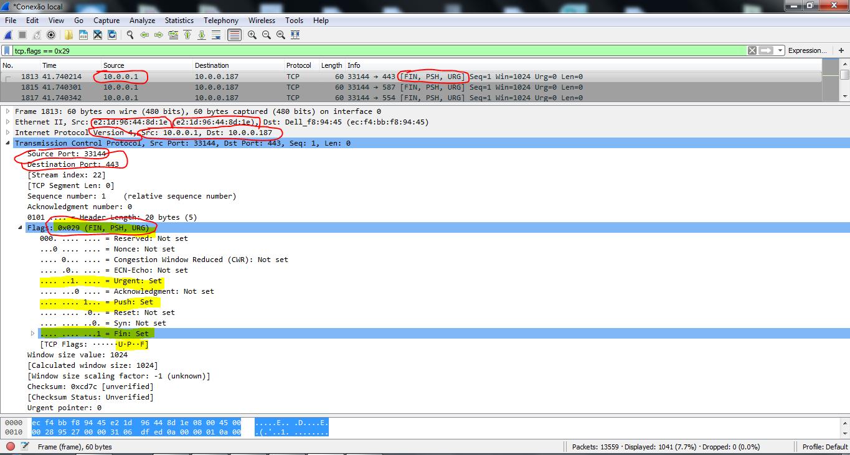 DECODING TCP  -WIRESHARK