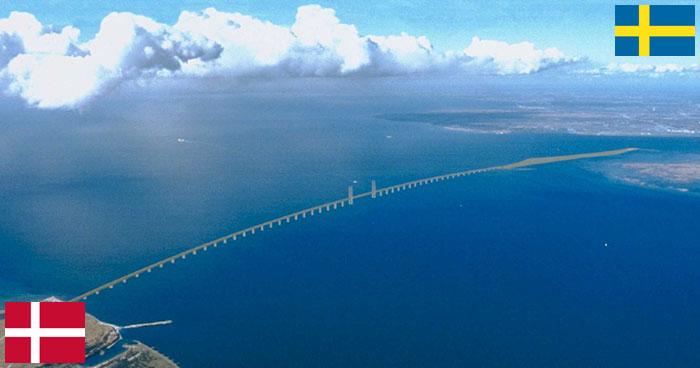 Ponte de Oresund - Ligando Dinamarca e Suécia