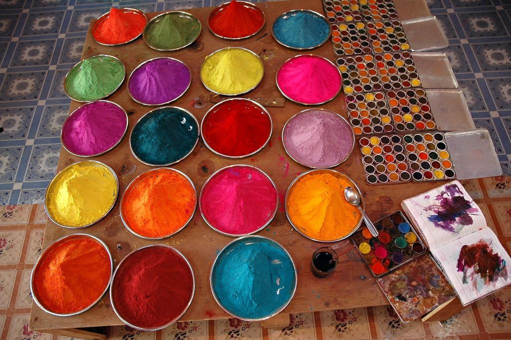 Pigmento de tinta ecológica