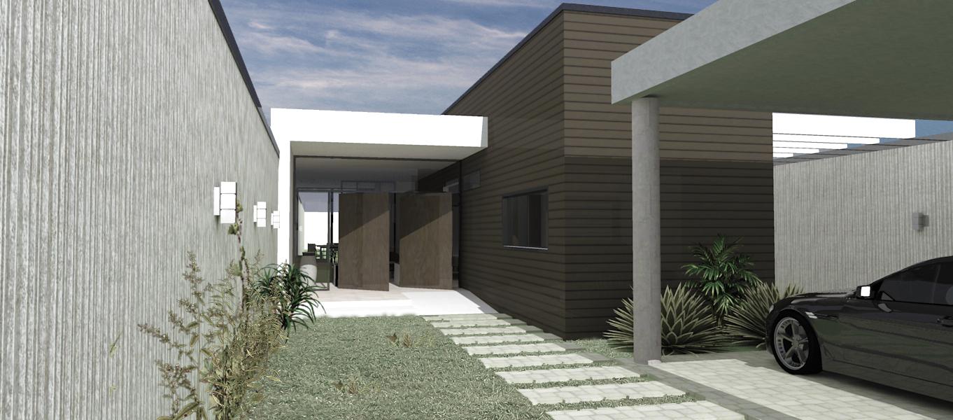 Projeto de fachada da casa