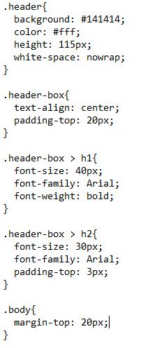 Trecho de Programação HTML