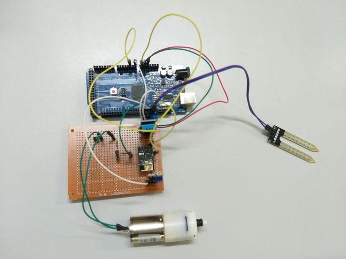 Placa de circuito impresso do sistema de irrigação
