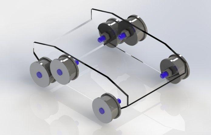 Protótipo 3 rodas