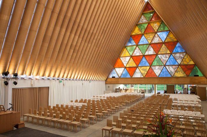 Interior da Catedral pós reforma