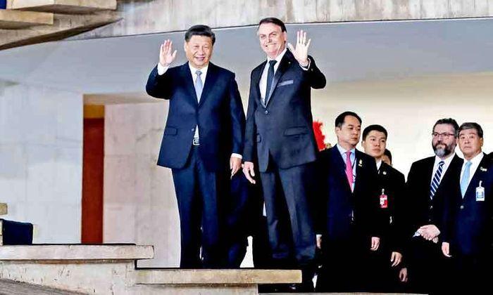 'A China é nosso primeiro parceiro comercial e queremos mais que ampliar, queremos diversificar nossas relações comerciais'' - Jair Bolsonaro, presidente do Brasil