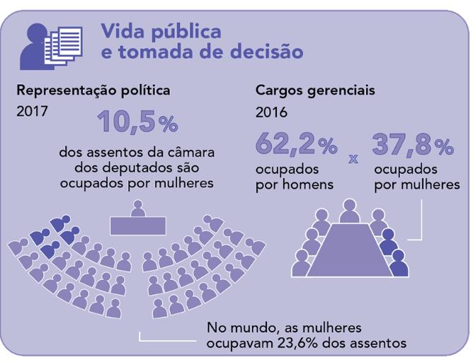 Dados profissionais - público feminino