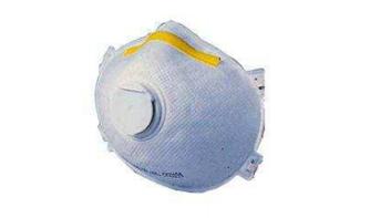 Respirador purificador de ar com filtro (descartável)