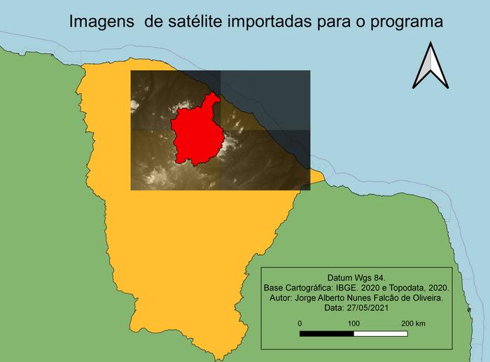 Imagens utilizadas como dado de entrada