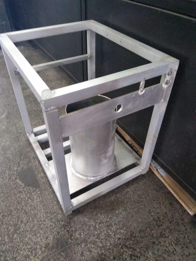 Estrutura em alumínio