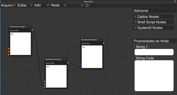 Proposta para interface