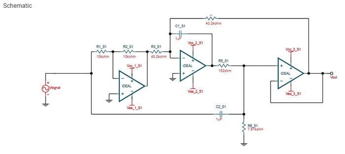 Filtro notch com frequência de corte em 60 hertz