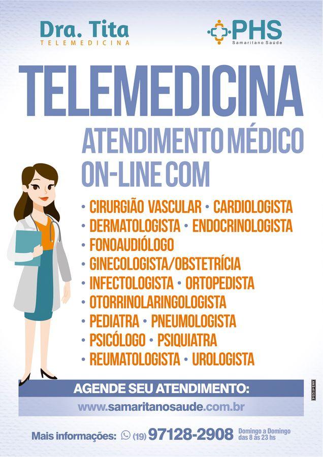 Dra. Tita - Telemedicina
