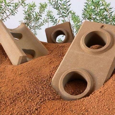modelo de tijolo ecológico