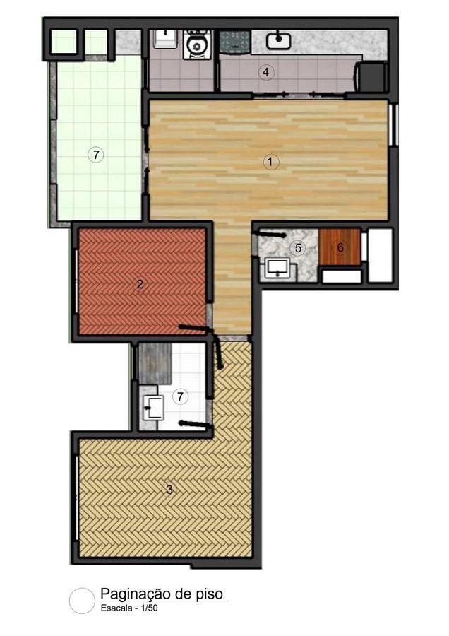 Paginação de piso