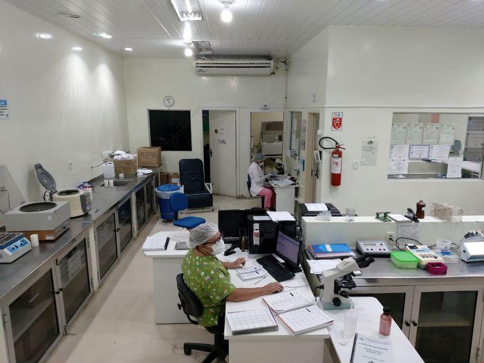 Vista geral do Laboratório HMINSN