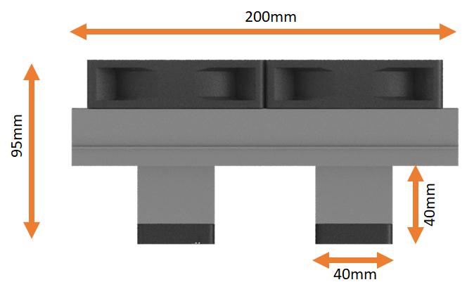 Dimensões Kit refrigeração