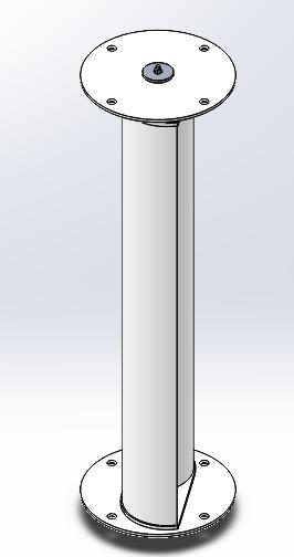 Montagem geral da turbina