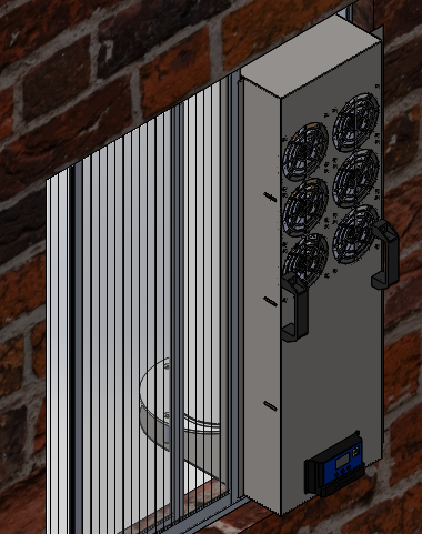 Protótipo fixado (Vista Interna)