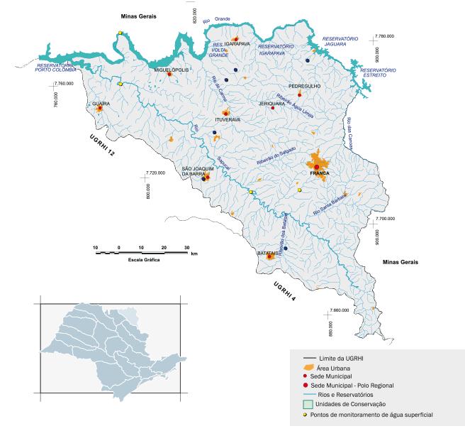 Bacia hidrográfica dos rios Sapucaí Mirim/Grande