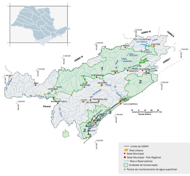 Bacia hidrográfica do Ribeira de Iguape