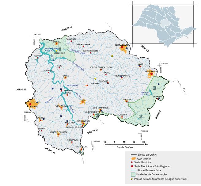 Bacia hidrográfica Paraíba do Tietê/Jacaré