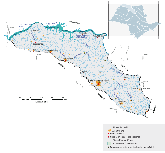 Bacia hidrográfica Paraíba do Turvo/Grande