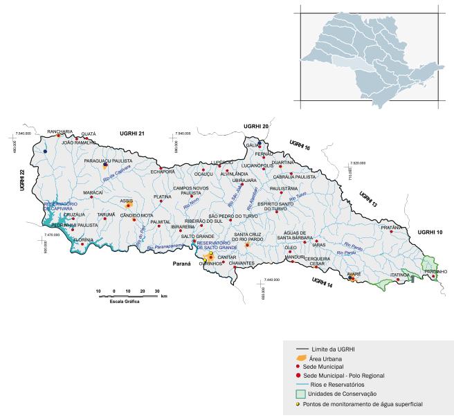 Bacia hidrográfica Paraíba do Médio Paranapanema