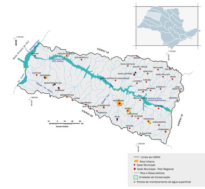 Bacia hidrográfica do Baixo Tietê