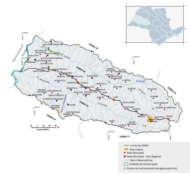 Bacia hidrográfica do Aguapeí e Peixe