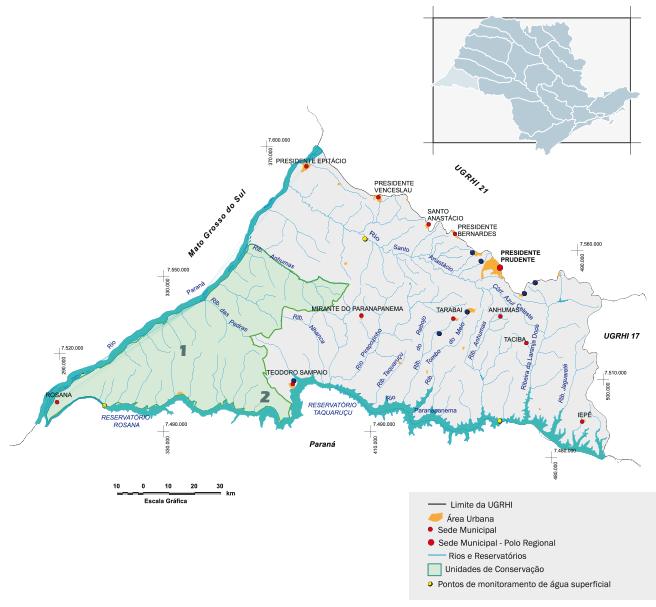 Bacia hidrográfica do Pontal do Parapanema
