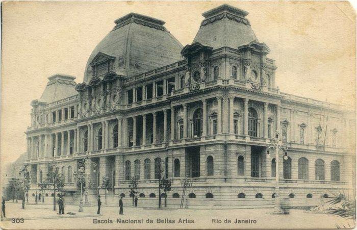 Escola Nacional de Belas Artes, 1816.