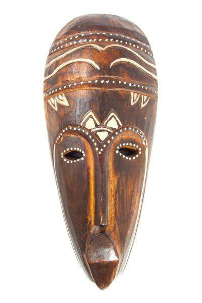 Máscara Africana usada em rituais.