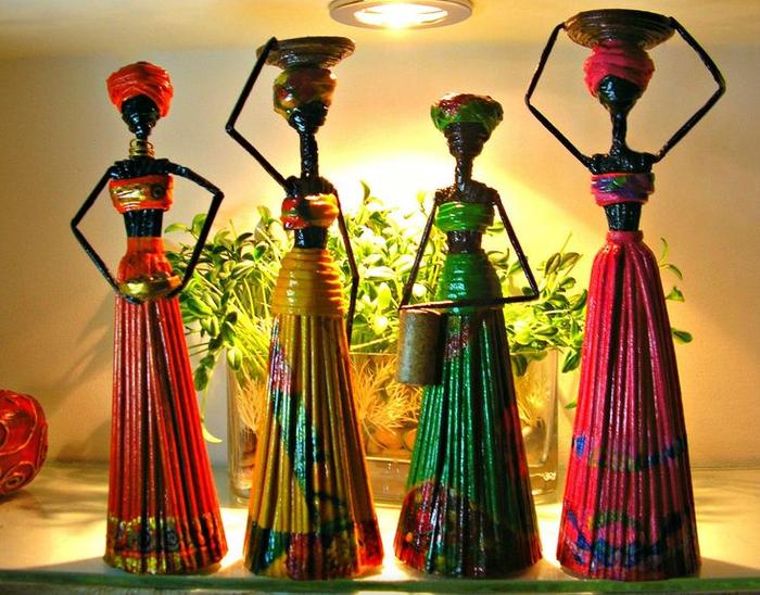 Bonecas africanas.