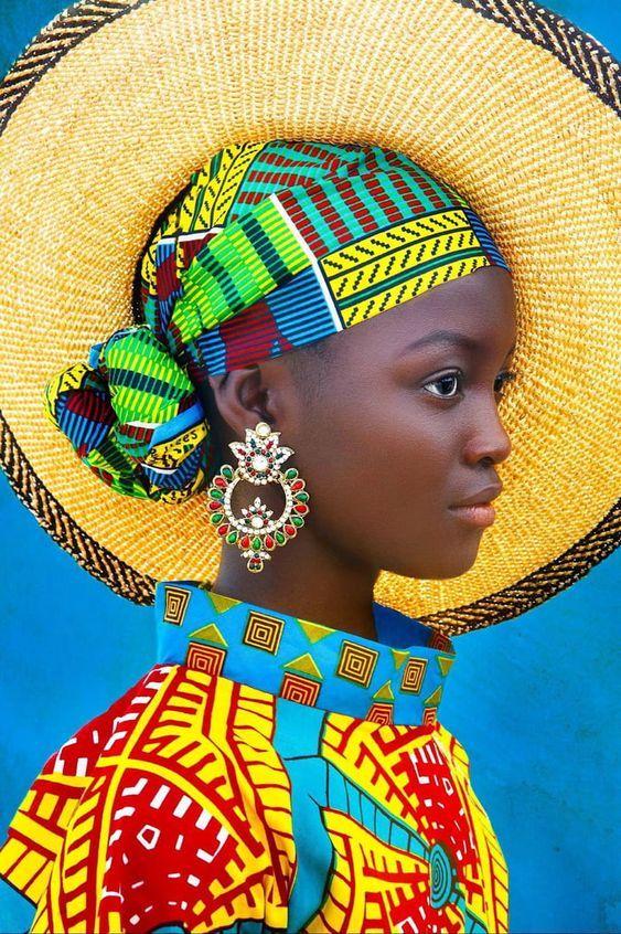 Acessórios africano.