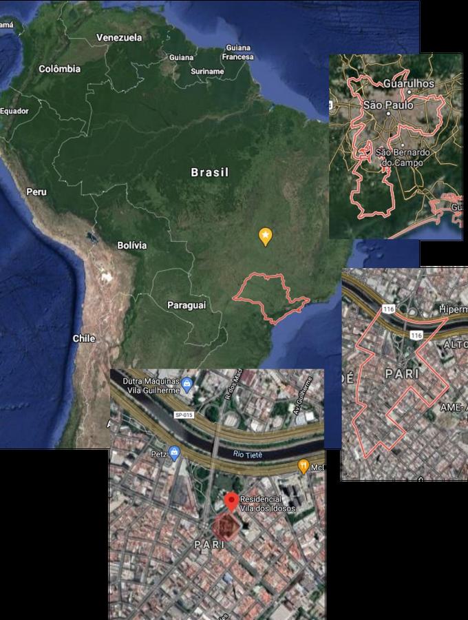 Localização Vila dos Idosos São Paulo