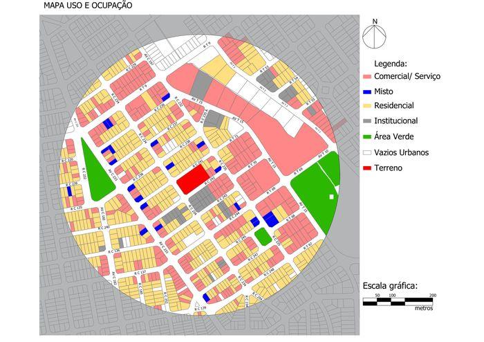 Mapa de Uso e Ocupação do Solo