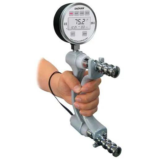 Dinamômetro digital de mão
