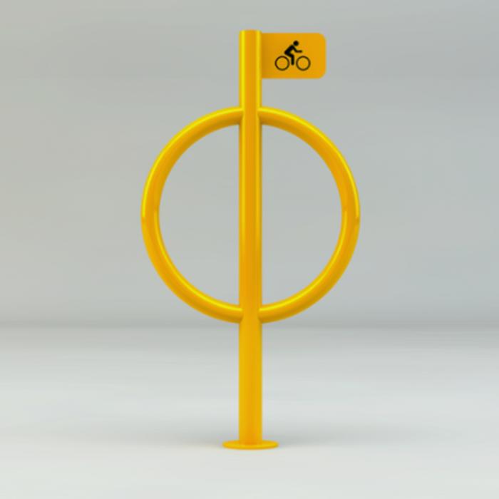 Paraciclo Circular Haste.