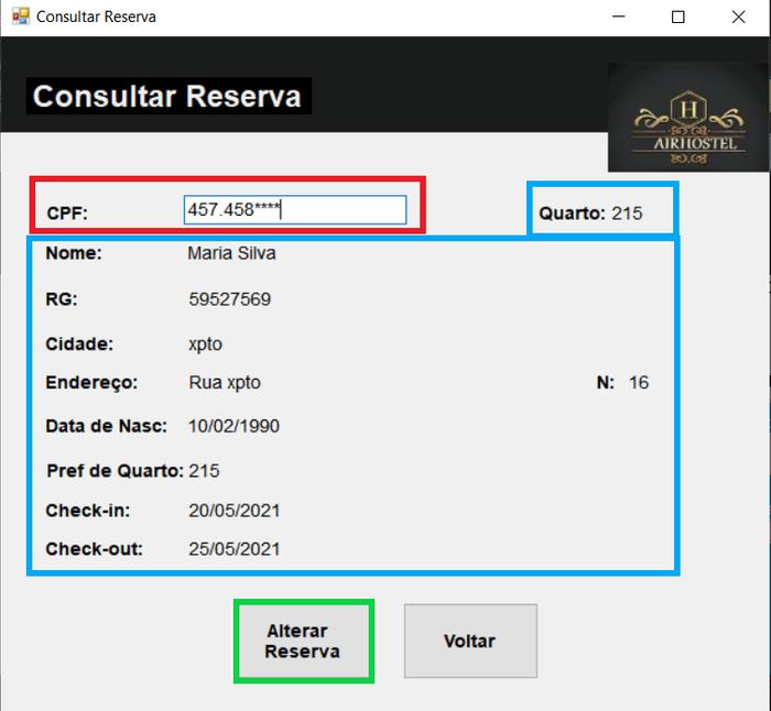 Consultar reserva