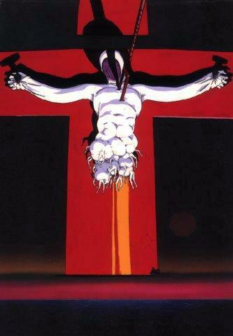 Cena de Lilith crucificada