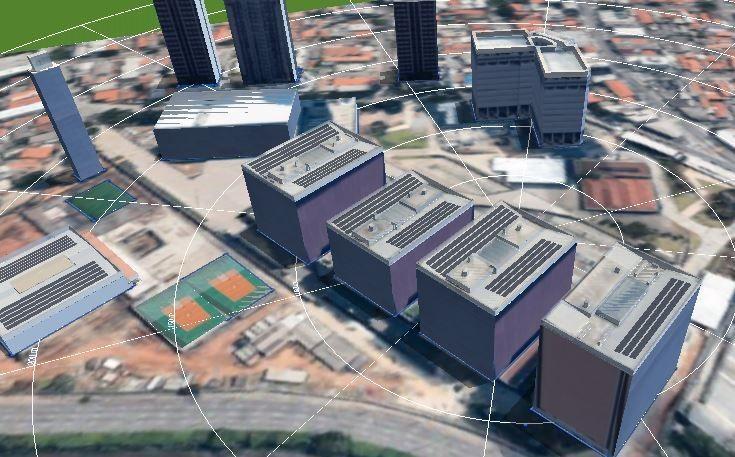 Projeto da UFV de SA com o software Pvsol
